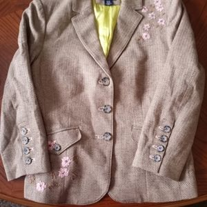 American Eagle Blazer with Embroidery